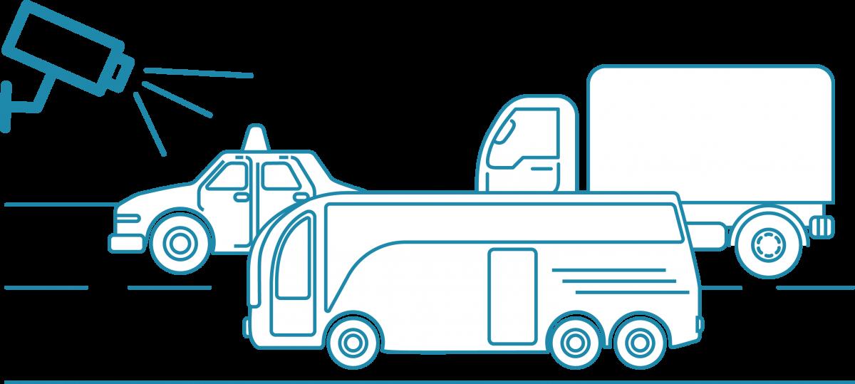 Štetje in razvrstitev vozil v prometu